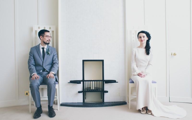 Wesley & Helen   House For An Art Lover Wedding   Glasgow Wedding Photographer Scotland