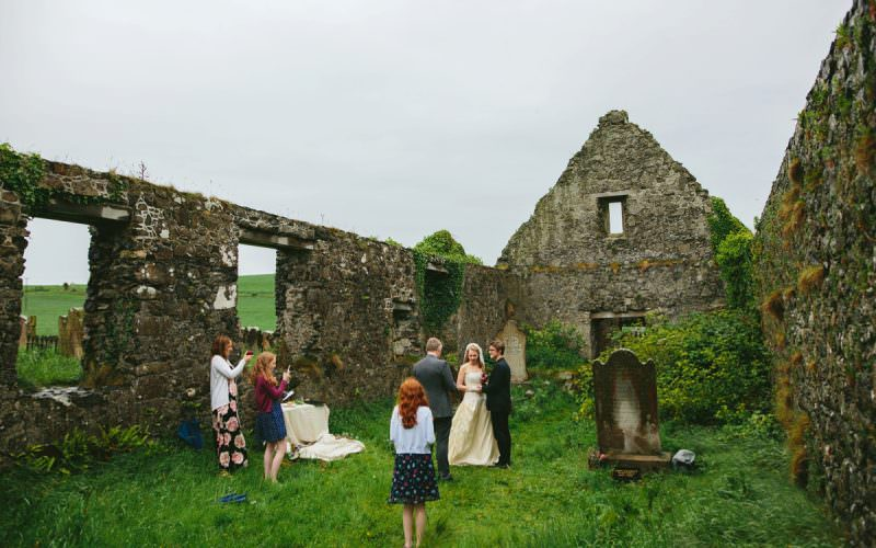 Intimate Elopement in Northern Ireland, Wedding Photography Ireland