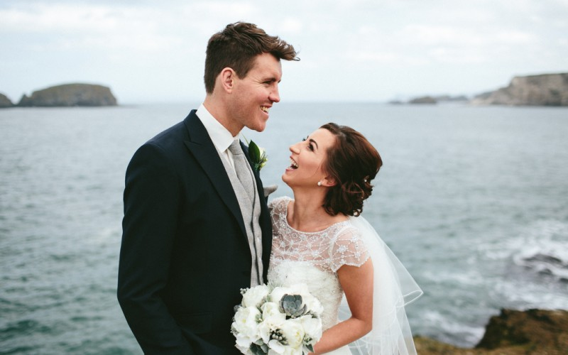 David & Amy   Portrush Wedding   Wedding Photographer Northern Ireland