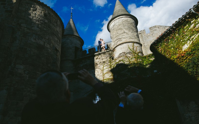 wedding photographers in france, chateau de lisse wedding photos